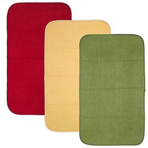 Dish Mat - all clad reversible dish drying mat bed bath beyond