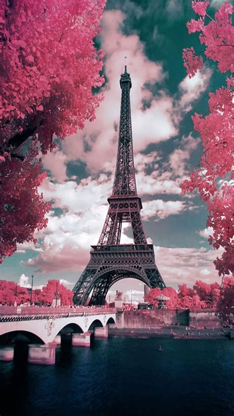wallpaper iphone 6 eiffel wallpaper iphone spring pinterest bon voyage pink
