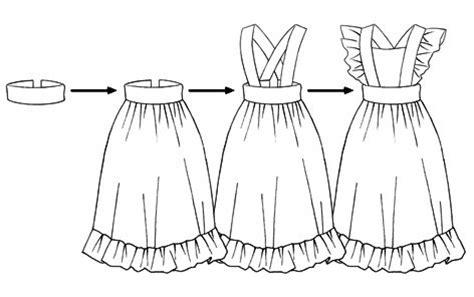 como dibujar vestidos fotos manual para dibujar vestidos de asistentas y sirvientas