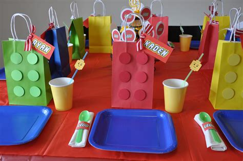 lego themed birthday decorations homemaking a lego themed birthday