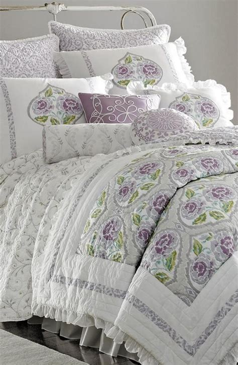 in love with this lavender comforter home base