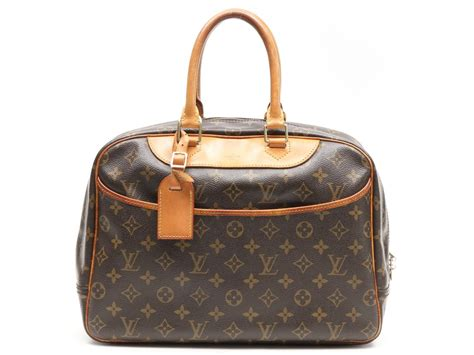 auth louis vuitton lv deauville handbag bag monogram