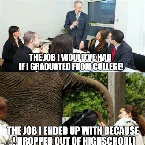 Finding A Job Meme - can t find a job with my master s degree so i collect