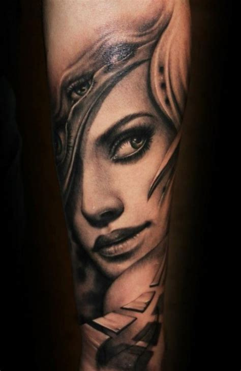 female face tattoo designs portrait s ideas newest tattoos 2017