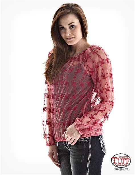 Sleeved Lace Top sleeve lace top