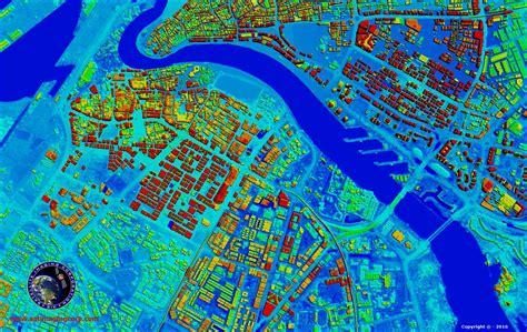 digital models 3d digital surface terrain modelling dem satellite