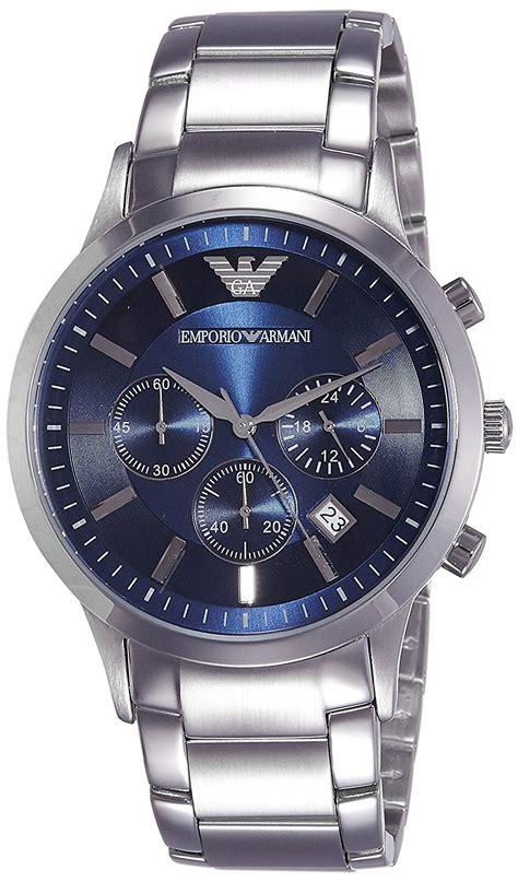 Silver Watches emporio armani mens ar2448 dress silver new free