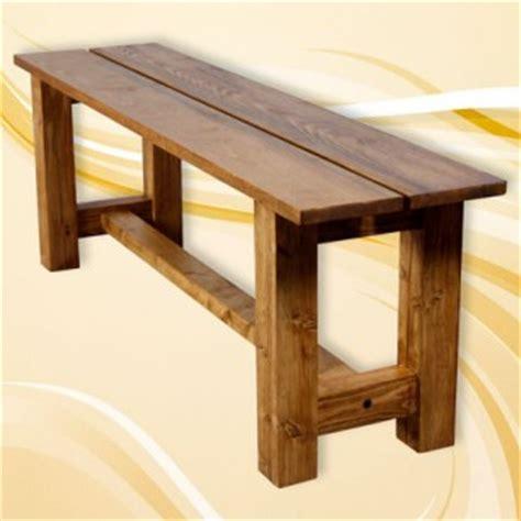 fabriquer un banc en bois massif syst 232 me d maisonbrico
