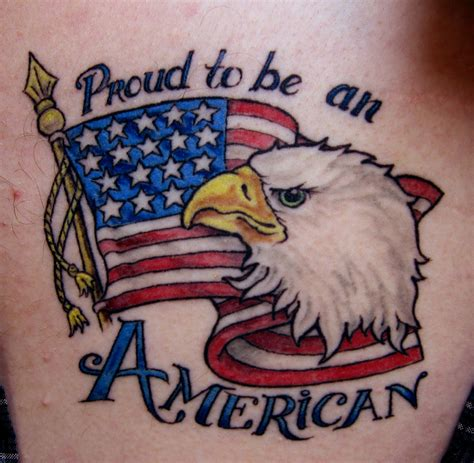 american flag eagle tattoo american flag tattoos designs ideas and meaning tattoos