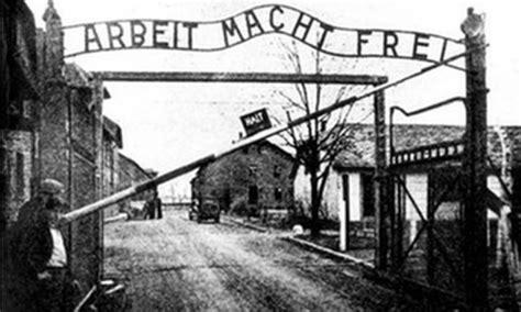scritta ingresso auschwitz nationalist mp tonio fenech dubs abortion modern day