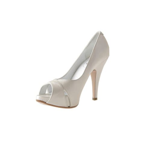 Braut Pumps by Damen Braut Open Toe Mit Inner Plattform Aus Geperlt