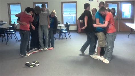 themes for group games youth group magic carpet game youtube