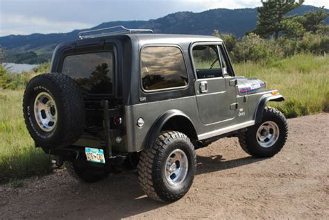 amc jeep cj7 1976 amc jeep cj7 renegade