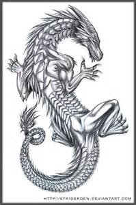 deviantart more like chinese dragon tattoo design