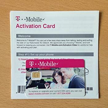 new mobile sim card t mobile micro sim card activation kit new