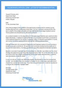 letter of recommendation for medical fellowship example