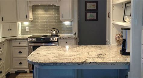 Kitchen Cabinets Furniture Arctic Cream Granite Flat Eased Edge Northern Marble