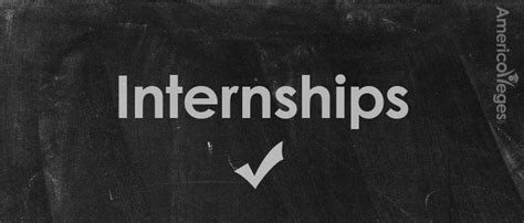 Do Internships Count As Years Of Experience Mba by Types Of Internships