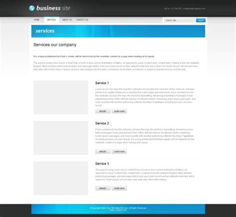 xhtml template businesspro xhtml template corporate css templates