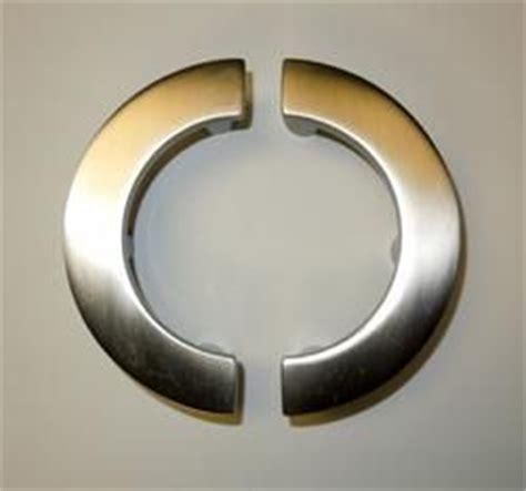 quot quot shaped half circle door pull hardware