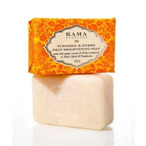 Benefits Of Handmade Soap - turmeric myrrh skin brightening handmade soap 120g