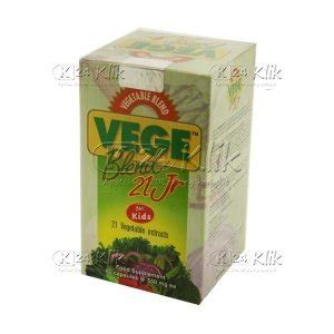 Vitamin Vegeblend Junior Jual Beli Vegeblend 21 Jr Btl 60s K24klik