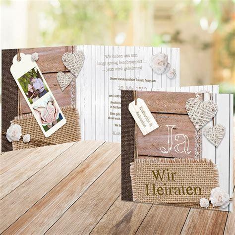 Einladungskarten Hochzeit by Einladungskarte Shabby Chic Zur Hochzeit Bestellen