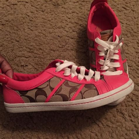 pink coach sneakers 50 coach shoes pink coach sneakers from s