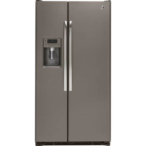 35 75 in w 21 9 cu ft side by side refrigerator in