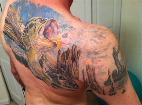 12 fishing tattoos that will make your jaw drop