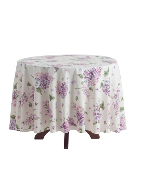 lilac tablecloth linens kitchen tablecloths
