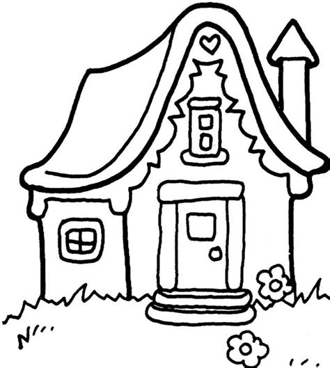 coloring pages of houses wallpaper download