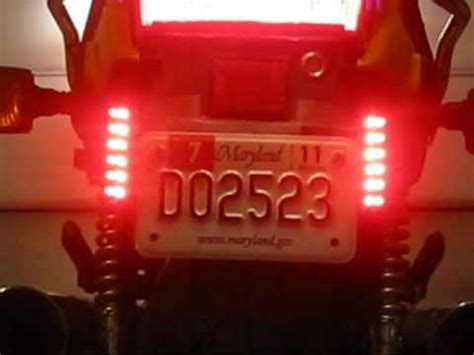 P3 Lights Motorcycle LED   review   YouTube