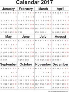 Free Yearly Calendar Template by 2017 Yearly Calendar Template In Portrait Format