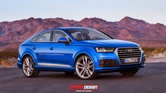 Audi Q8 Pics Audi Q8 Coupe Suv Imagined With Design Cues From All New Q7