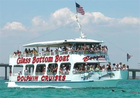 glass bottom boat picture of boogies watersports destin - Boogies Glass Bottom Boat Destin Fl
