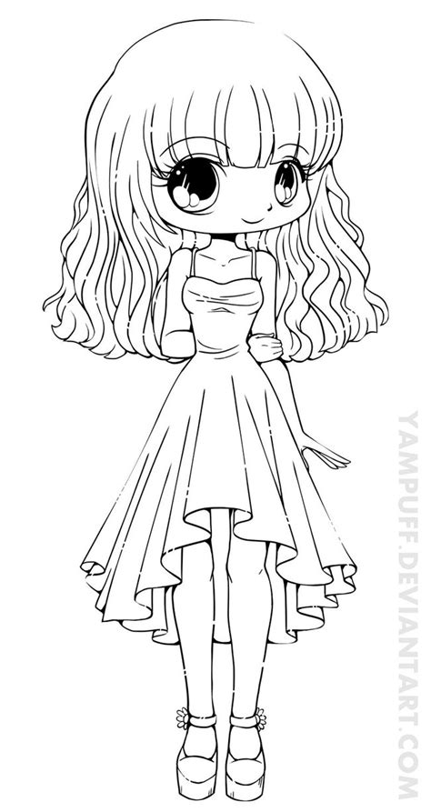 Anime Chibi Princess Coloring Pages Coloring Pages Chibi Princess Coloring Pages