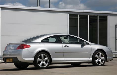 peugeot 407 coupe 2007 peugeot 407 coupe 2006 car review honest john