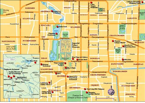 tourist map of beijing tourist map tian039anmen square beijing mappery
