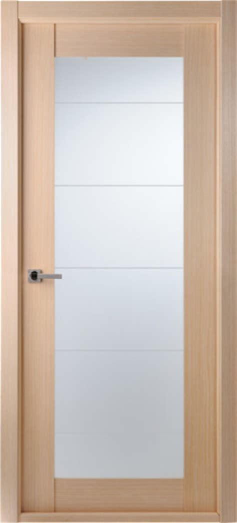Interior Frosted Glass Doors Contemporary Bleached Oak Interior Single Door Lined Frosted Glass Contemporary Interior