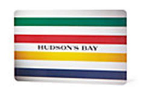 Hudson Bay Company Gift Card Balance - hudson s bay gift cards hudson s bay