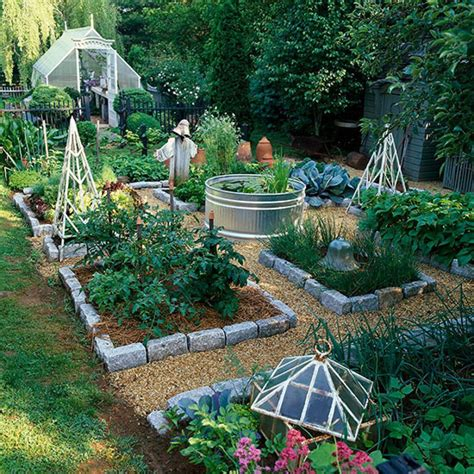 10 Ways To Style Your Very Own Vegetable Garden Backyard Garden Layout