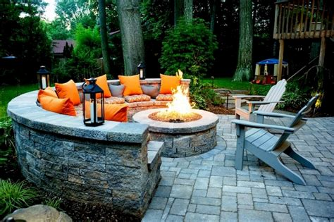 35 Easy And Cheap Fire Pit And Backyard Landscaping Ideas Cheap Backyard Pit Ideas