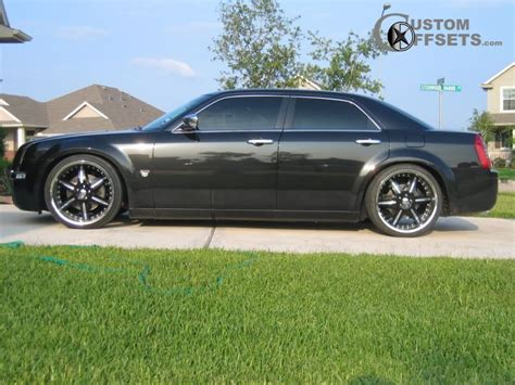 2006 chrysler 300 custom wheel offset 2006 chrysler 300 flush custom rims