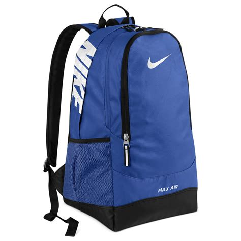 Max Backpack Blue nike team max air large backpack in blue for