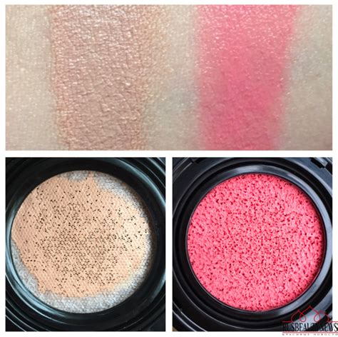 Lancome Cushion Blush lancome teint idole ultra cushion and cushion blush subtil