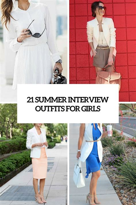 summer interview outfits  girls