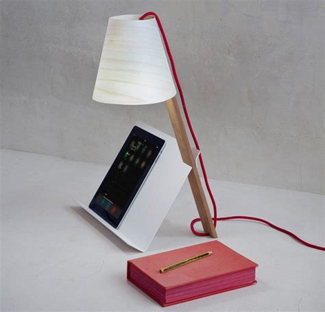 simple table lamp  book stand  easy reading asterisco  great inspiration