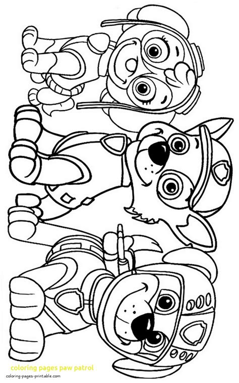 coloring pages paw patrol with paw patrol coloring pages