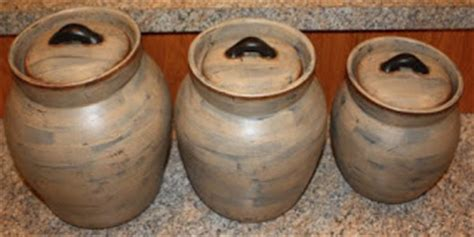 Adorable Country Classics Primitive Canisters Adorable Country Classics Primitive Canisters Personalized